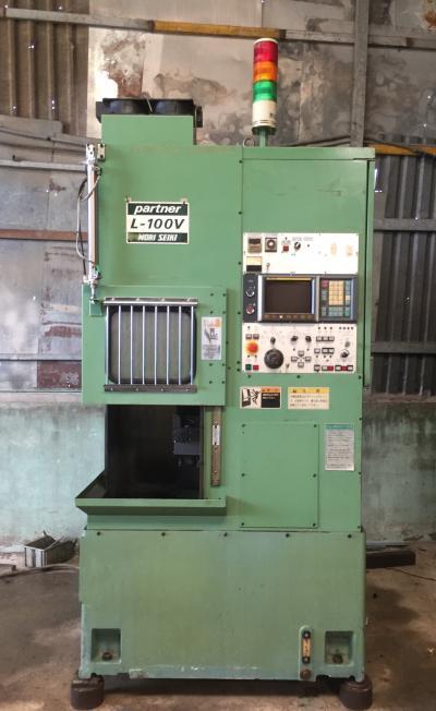 Máy tiện CNC - MORI partner L-100V