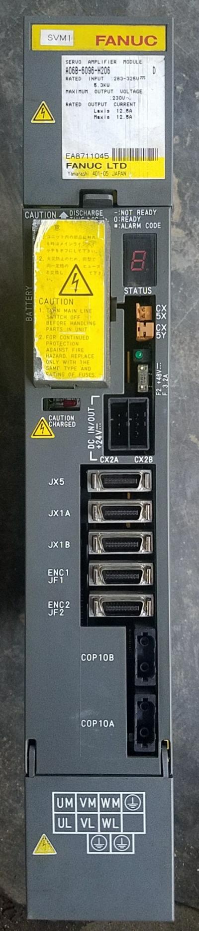 Servo Amplifier Module : A06B - 6096 - H206
